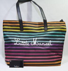 sfondo 42 5x31x10 stampato Handbag Marcel nuovo Handbag cm Little 6Rx4UYq6w