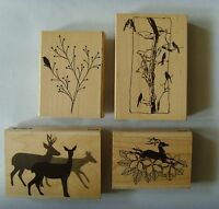 Assortment of Penny Black Wood Mounted Rubber Stamps, You Choose