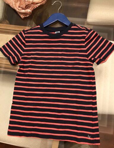 Janie  /& Jack Boys NWT striped pocket  T Shirt  Size 7 Great!