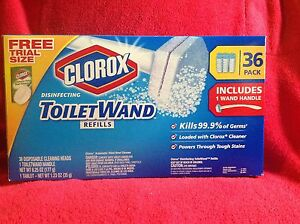 Clorox Bleach Toilet Wand