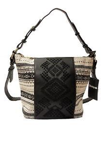 Details zu Desigual Handtasche Tasche Bols Lila Astun Schultertasche, NEU