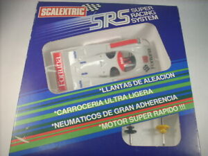 Porsche 956    Srs Scalextric - Exin Réf.   fortuna  7036 Completo