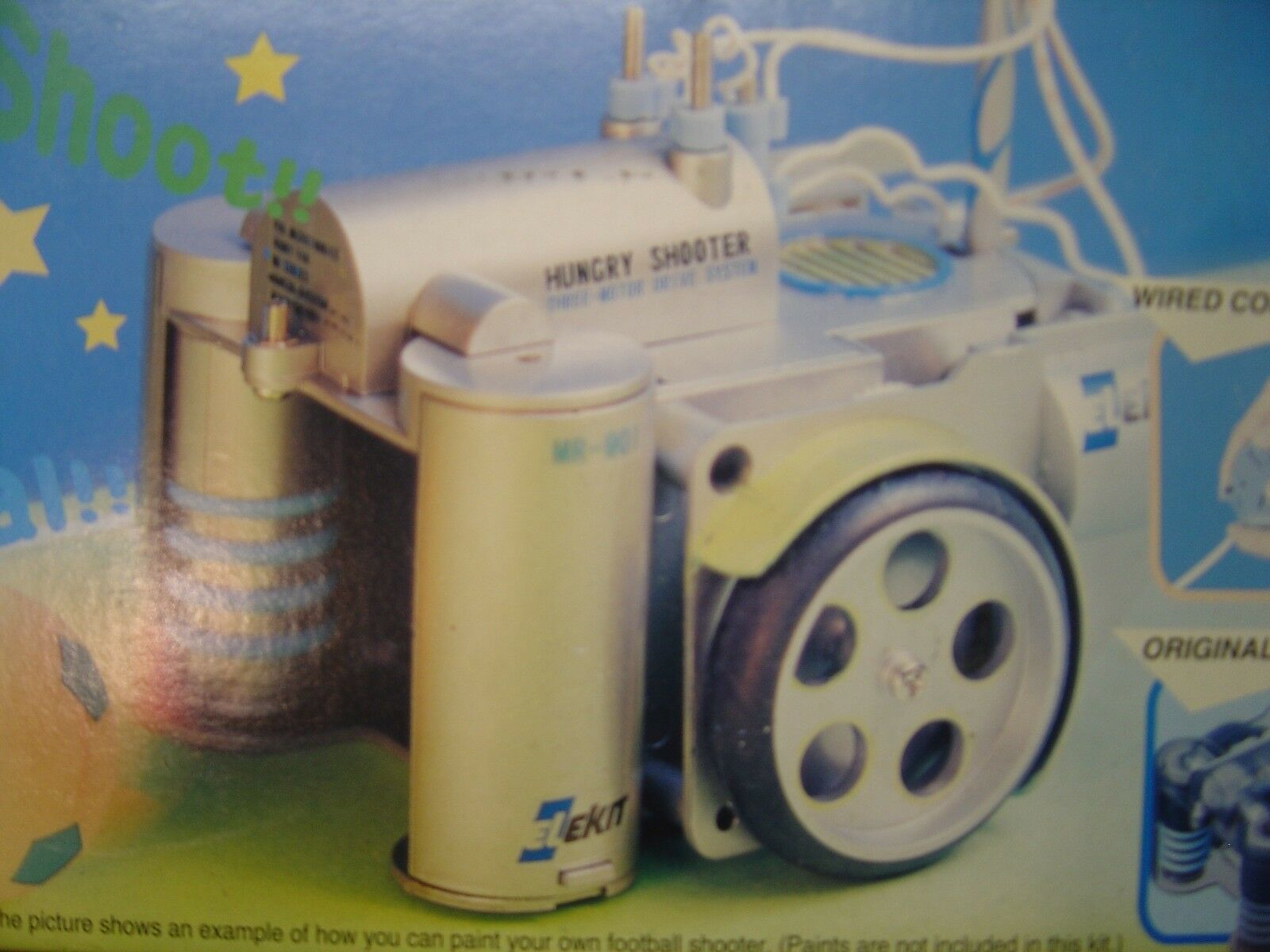 STAR SHOOTER ROBOTER Bausatz BASTELN + SPIELEN
