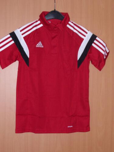 Adidas Condivo 14 Trainingsshirt Poloshirt rot Kinder Sport Shirt climalite neu