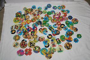 Huge Lot w/ The Simpsons Pogs - Croky - Flippo - Belgium