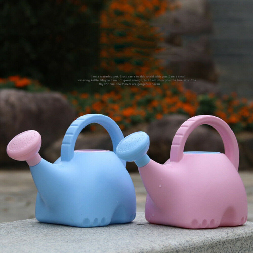 1pc Cartoon Elephant Creative Durable Watering Can Chidlren