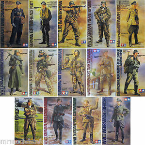 Tamiya-1-16-Figure-New-Plastic-Model-Kit-Figures-1-16