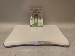Nintendo Wii Fit Balance Board Bundle  Wii Fit Plus