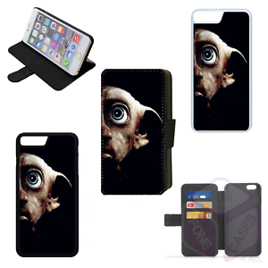 new product acd00 9225c Details about HARRY POTTER DOBBY Flip Phone Case Wallet Cover iPhone 4 5 6  7 8 Plus X (E)