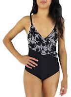 Ocean Jewel Women's Bathing Suit One Piece Black Style:0j-2010 Size 14