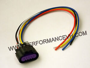 ls3 ls7 5 wire maf sensor wiring connector pigtail gm mass ... ls7 maf wiring
