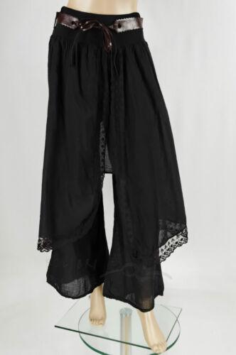 pantalon en style hosenrock Chillout rock * tendance 38-46 CEINTURE LOOK