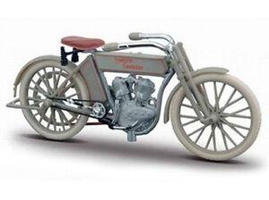 HARLEY-DAVIDSON-Modelo-1909-Twin-5d-V-TWIN-MAISTO-MOTO-1-18-NUEVO-emb-orig