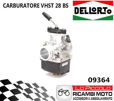 09364 Carburatore Dellorto Vhst 28 Bs 2t Aria Manuale Universale Mini Gp/scoote