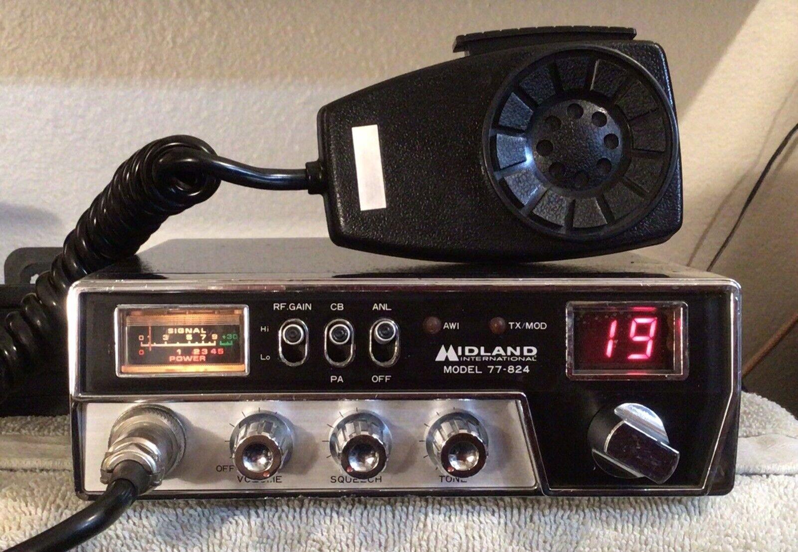 marprye_0 MIDLAND 77-824 40CH CB RADIO.   ***FREE SHIPPING!***