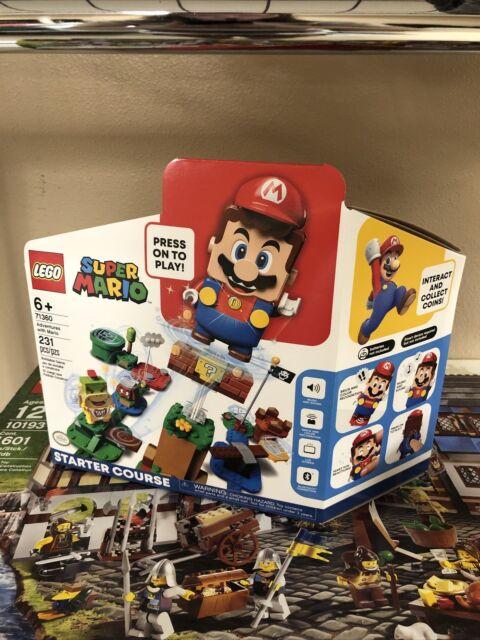 NO MARIO LEGO Super Mario Adventures Starter Course 71360 Building Kit -Open New
