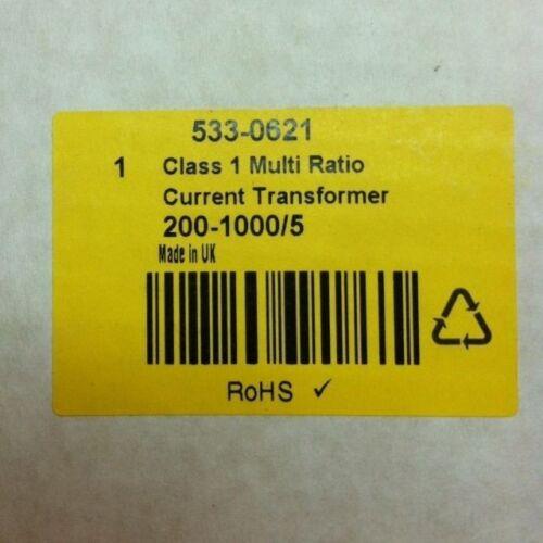 CTSCEN200/<1000//5 1 UNIT HOBUT Current Transformer Clip Fit