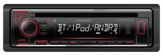Kenwood KDC-BT520U CD/MP3-Autoradio Bluetooth USB iPod AUX-IN