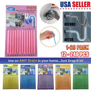 12 240 215 Sani Sticks Soap Keep Drain Pipes Clean Bar Odor
