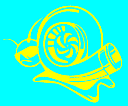 buy 2 get one free D19 TURBO super SNAIL DECAL STICKER  Quality Vinyl