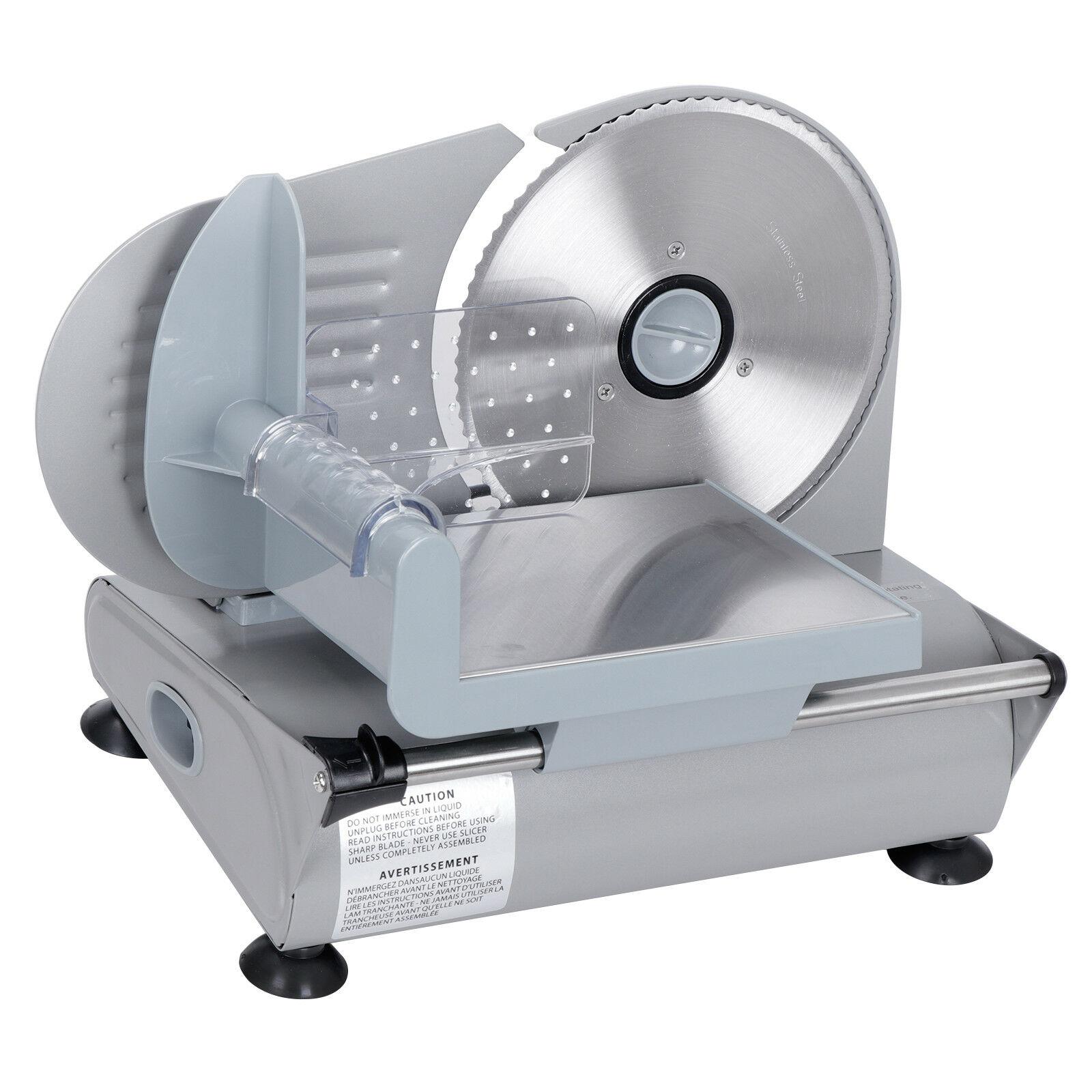 Meat Slicer 7.5  Blade Home Deli Food Slice Premium Quality Kitchen Countertop