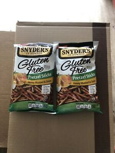 Snyder's of Hanover Gluten Free Honey Mustard & Onion ...