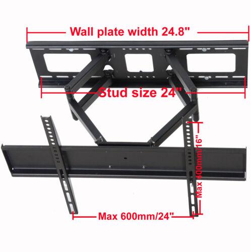 Dual Arm Full Motion TV Wall Mount for Sharp 40 42 46 47 52 55 60 LED Plasma BR8