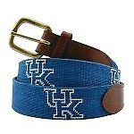 NWT Smathers and Branson needlepoint University of Kentucky belt in size 38
