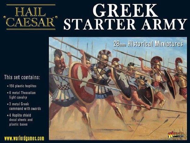 WARLORD GAMES ave César EntièreHommest neuf dans sa boîte  grec Starter WGH-109914501 armée  économiser jusqu'à 70% de réduction
