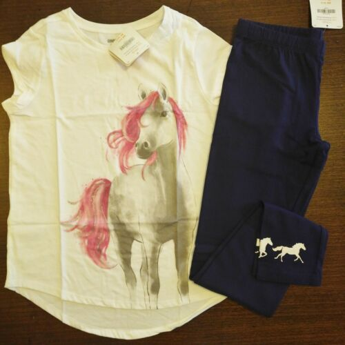 NWT Gymboree Bright Days Ahead Horse Top//Horse Legging Size 4 5 6 7 8 10 12 14