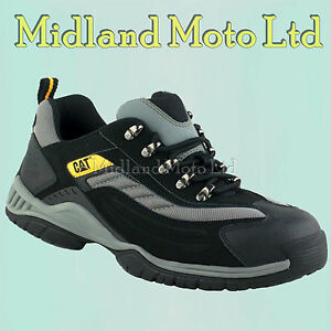 df669a81944 Details about Caterpillar Steel Toe Cap Moor SB Safety Trainers Boots, CAT,  Shoes 7025
