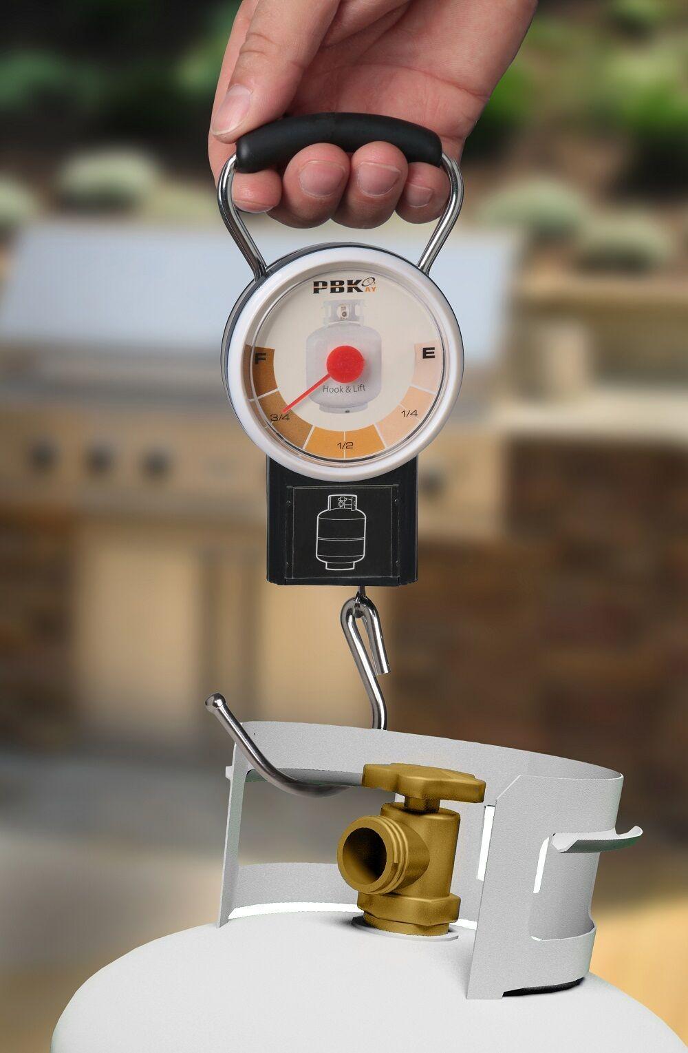 LEPG Fuel Butane Propane Bottle Tank Level Magnetic Gas Level Indicator Motorhome Caravan or Camping. Ideal for BBQ