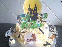 Scooby Doo Scene **WAFER** Edible Cake Decoration Set