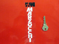 MARZOCCHI White & CLEAR Racing Bike STICKERS 175mm Ducati Guzzi Aprilia Car Race