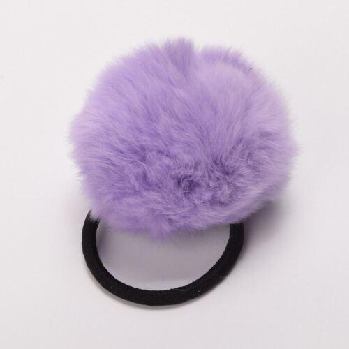 1pc Cute Harajuku Rabbit Fur Hair Scrunchies Hair Band Girls Lolita Accessory