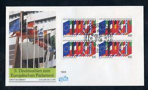 BUND Nr.1416 VIERERBLOCK SCHMUCK-FDC ESST BONN EUROPA !!! (137165) - Frankenthal, Deutschland - BUND Nr.1416 VIERERBLOCK SCHMUCK-FDC ESST BONN EUROPA !!! (137165) - Frankenthal, Deutschland