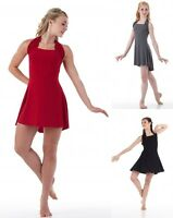 Simplicity Dance Costume Black,red,grey Tap Dress-trunks Ballet Cm,cl,cxl,as,al