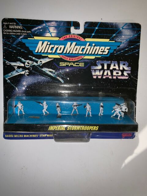 Star Wars Imperial Stormtroopers Galoob Micro Machines Space 9 figure 66080 NEW