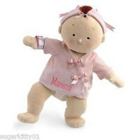 Personalized Rosy Cheeks Soft Brunett Girl Baby Doll 15 Tall