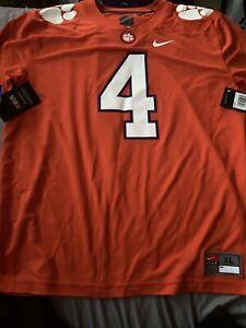 Details about DeShaun Watson Clemson Tigers Orange XL Nike Houston Texans $100