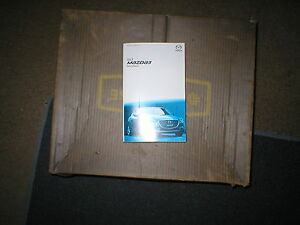 2017 mazda 3 owners manual with cover case ebay rh ebay com owners manual mazda 3 2005 owners manual for mazda 3