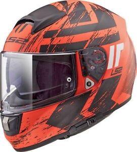 LS2-FF397-FT2-Vector-Hunter-Orange-Ktm-INTEGRAL-Double-visiere-casque-moto