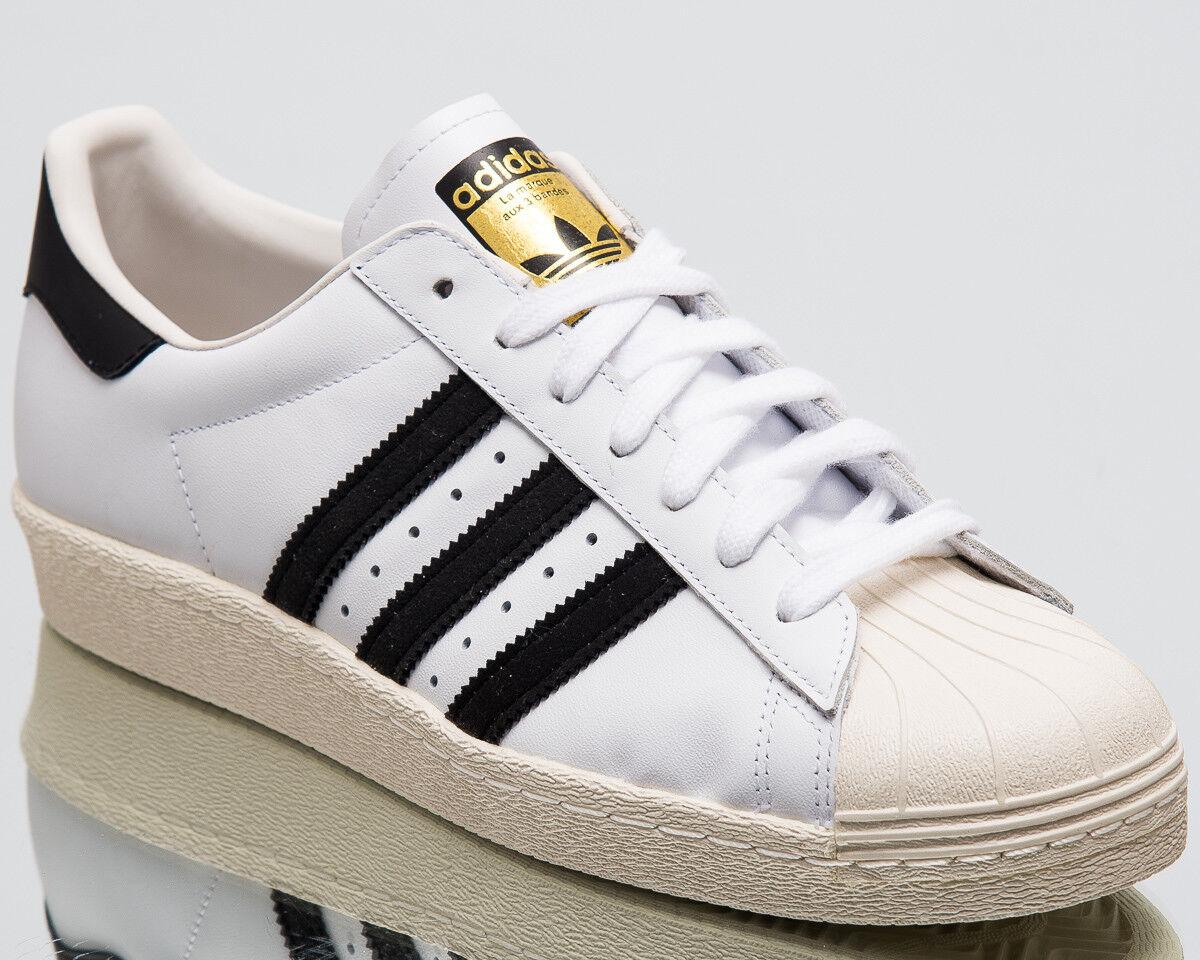 Adidas Originals Superstar 80s Hombres Zapatos Tenis Nuevo Blanco Negro Zapatos Hombres  G61070 1b2ead