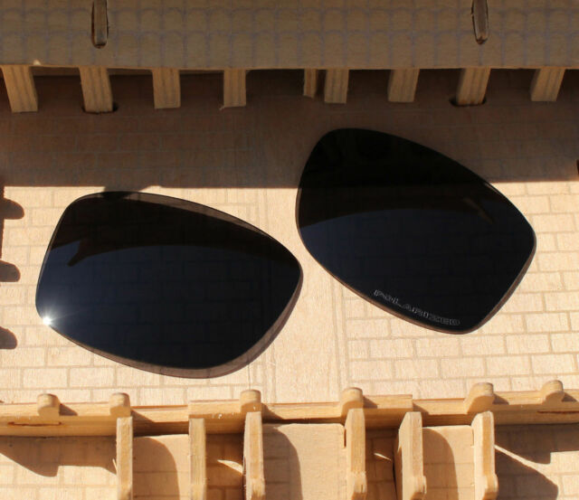 60e1777d1b ACOMPATIBLE Black Replacement Lenses Polarized for-Oakley Jupiter Squared  OO9135