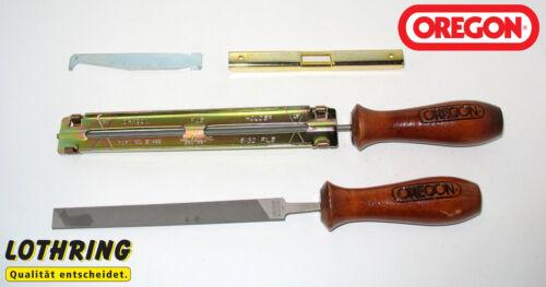"""1,3 mm Nut Oregon Schärfsatz für Sägeketten 4,0 mm 90405 3//8/"""" + 1//4/"""" Teilung"""