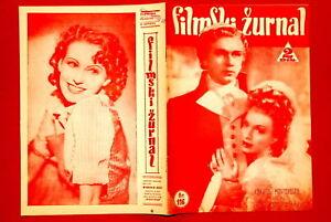 CONCHITA-MONTENEGRO-ON-COVER-1941-RARE-EXYU-MAGAZINE