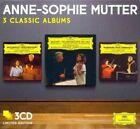 Anne-sophie Mutter - 3 Classic Albums Ltd 3cd Mozart Beethoven Mendelssohn