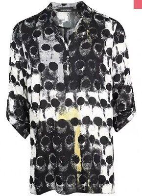 DORIS STREICH XXL Shirtjacke Jacke schwarz orchidee Jersey NEU