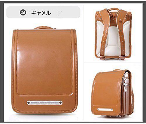Qwawa Japanese school bag Randoseru color Camel Backpacks A4 NEW From Japan