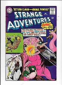 Strange-Adventures-184-2nd-apperance-Animal-Man